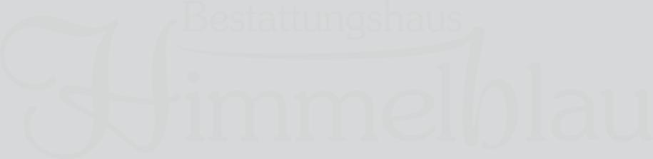 BESTATTUNGSHAUS HIMMELBLAU Logo